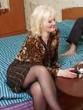 Hot blonde drunk mom gone bad