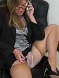 stocking secretary flashes