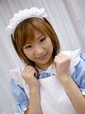 Iruka Sakana teasing in naughty maid uniform