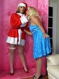 G/G set,stockings,heels