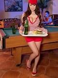 The Hot Waitress