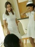 Nurse striptease for Mr. Beckman