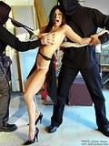 Ashley Renee roped