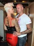 Amsterdam hooker pleasures client in her crazy sex room