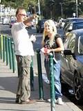 A cute blonde slutty schoolgirl banged by horny old man