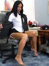 Slut secretary Angel