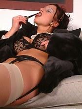 smoking nylons