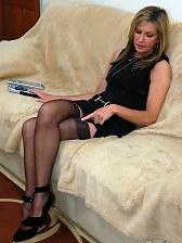 sexy office nylon fetish