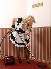 Busty Maid Tiffany Kingston Sucks